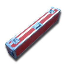LED BAR Flightcase in rot