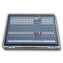 24 Kanal Soundcraft LX7 Mischpult Flightcase