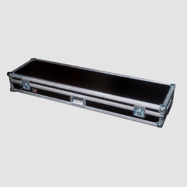 nord stage 2 EX Keyboard Flight Case mit Eckeinbaurollen